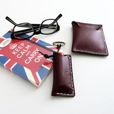 Did I mention that we like handcrafted leather products?