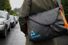 The Aquapac Stormproof Messenger Bag is a 100%-waterproof laptop bag. And we reckon it's the best waterproof laptop bag there is, at any price. http://thegadgetflow.com/portfolio/aquapac-stormproof-messenger-bag/