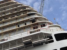 Construction is well underway on Regal Princess, set to debut in 2014