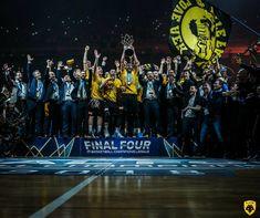 CHAMPIONS LEAGUE BASKET 2018 WINNERS AEK!