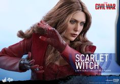 Captain America: Civil War Hot Toys Scarlet Witch