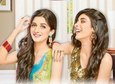 Pak Celebrity Gossip: Pakistani Celebrities Sisteres Mawra Hocane, Urwa-...