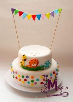 Baby shower/Bautizo | Baby Shower Deco, Baby Shower Cakes, Baby First Birthday, Birthday Cake, Birthday Parties, Safari Cakes, Cakes And More, First Birthdays, Fondant