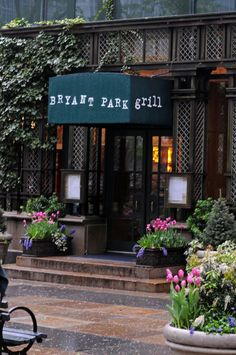 Spring in New York City Bryant Park Grill