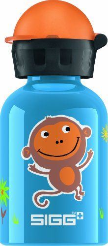 SIGG Jungle Monkey Water Bottle Blue 03Liter ** Want to know more, click on the image.Note:It is affiliate link to Amazon.
