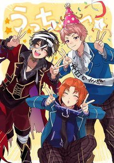 Mika, Shu, & Leo | Ensemble Stars!