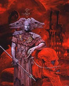 """Paintings of Hell from American artist Wayne Barlowe"" Dark Fantasy Art, Dark Art, Arte Sci Fi, Sci Fi Art, Arte Horror, Horror Art, Wayne Barlowe, Sci Fi Kunst, Illustrator"