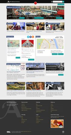 Redesigned homepage September 2013