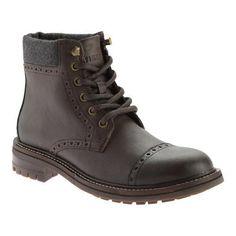Men's Tommy Hilfiger Herbie Boot Dark Brown Vegas Pu/