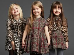 Fashion 2018 Children's fashion for girls - charming outfits for the winter Fashion Kids, Little Girl Fashion, Little Girl Dresses, Autumn Fashion, Girls Dresses, Fashion 2018, Cheap Fashion, Fashion Clothes, Fashion Trends