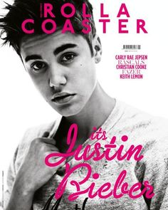 Justin Bieber covers Rollacoaster Magazine, UK