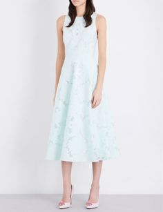 Whether you're looking for floral day dresses, sparkling party dresses or a smart midi dress for the office, our range of designer dresses has it all. Mint Green Dress, Green Midi Dress, Lace Midi Dress, White Dress, Coats For Women, Clothes For Women, Ted Baker Womens, Ted Baker Dress, Day Dresses