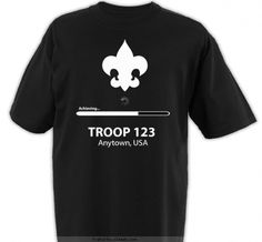 Achieving Loading Bar - Boy Scout™ Troop Design SP3865