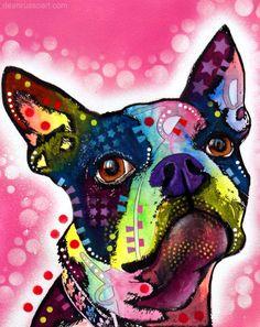 """""""Boston Terrier"""" - Dean Russo"""