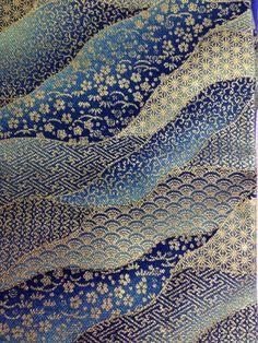 Traditional Japanese pattern fabric