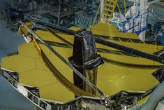 The Webb Space Telescope is large, with a diameter of 6.5 metres, hexagonal in shape, durable, flexible, and lightweight.  It is made of beryllium mirrors because it is light, strong, and durable in extreme heats and colds.  It was built and put in space to try and see galaxies up to 13 billion light-years away.  The making of the telescope allows it to have two mirrors, a bigger cocave one and a smaller convex one.