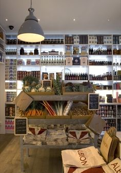 Fresh produce display. Sir Terence Conran to launch Albion cafe chain | News | Design Week