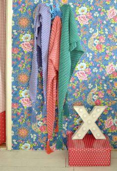 Tunisch gehaakte sjaal - TonSurTon - ByClaire - Haakpatronen, Haakboeken, Haakgaren Chrochet, Crochet Shawl, Poncho Shawl, Floral Tie, Quilts, Blanket, Handmade, Crafts, Spinning