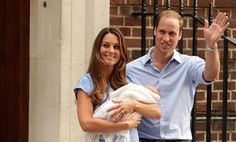 William and Kate announce their new son
