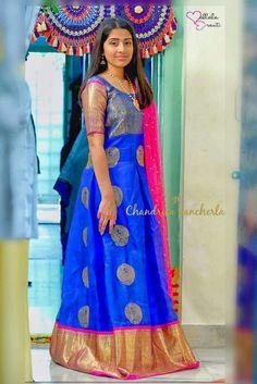 Kerala Saree Blouse Designs, Lehenga Designs, Kurta Designs, Saree Gown, Sari Dress, Anarkali Dress, Indian Gowns Dresses, Indian Outfits, Frock Models