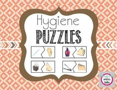 Help your students learn about hygiene and increase vocabulary with these 18 puzzles. Students match the hygiene product to the body part it's used for. Perfect for students with disabilities! 2 versions- one with just pictures and one with pictures & words.