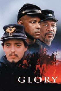 Glory. Underrated Civil War drama directed by Edward Zwick. Great cast including a young Denzel Washington who (imho) is one of the best actors in Hollywood. A memorable movie that you should find time for.
