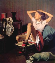 Thérèse Dreaming by Balthus (1938) – my daily art display