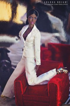 Le Smoking Adele - Fashion Royalty by Integrity Toys | Flickr - Photo Sharing!