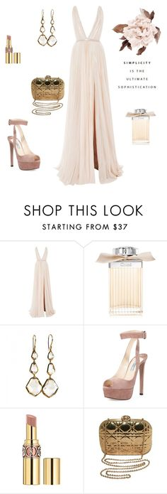"""Mmm"" by mashael1 ❤ liked on Polyvore featuring J. Mendel, Chloé, Ippolita, Prada, Yves Saint Laurent and Christian Dior"