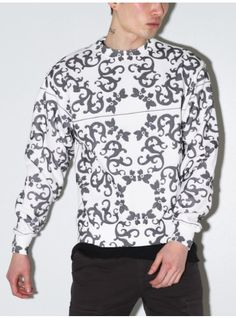 TPN tile print sweatshirt