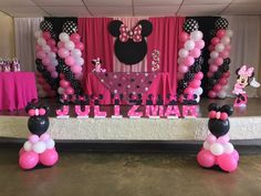 Minnie Mouse foam letters