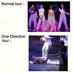 Haha. Yep. There's little mix and then there's one direction. Wow.
