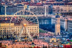 Place Bellecour, Lyon, France by António Farelo, via 500px