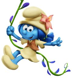 Lily Smurfs The Lost Village Transparent PNG Image