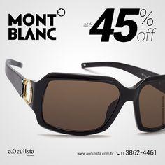 Óculos de Sol Mont Blanc com Até 45% de desconto. Compre pelo site em Até 10x Sem Juros e frete grátis nas compras acima de R$400,00 👉 www.aoculista.com.br/mont-blanc #aoculista #MontBlanc #glasses #sunglasses #eyeglasses #oculos