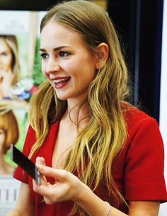 Britt Robertson at the Mother's Day Event in LA on April 13, 2016