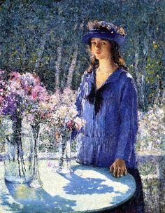 Flower Girl - Helen M. Turner (1920) ▓█▓▒░▒▓█▓▒░▒▓█▓▒░▒▓█▓ Gᴀʙʏ﹣Fᴇ́ᴇʀɪᴇ ﹕ Bɪᴊᴏᴜx ᴀ̀ ᴛʜᴇ̀ᴍᴇs ☞  http://www.alittlemarket.com/boutique/gaby_feerie-132444.html ▓█▓▒░▒▓█▓▒░▒▓█▓▒░▒▓█▓