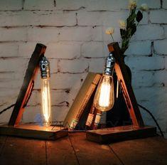 BestPrice High Quality Loft Vintage Wood Edison Retro Bulb Table Lamp Desk Light Cafe Home Bar Decoration Wooden Desk Lamp, Table Lamp Wood, Table Lamps, Wood Desk, Desk Light, Light Table, Edison Lampe, Edison Bulbs, Vintage Industrial Furniture