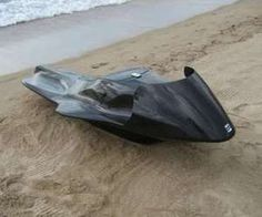 Lay down Carbon fiber jet ski