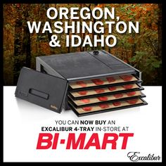 Excalibur Dehydrators ... Now at BiMart!