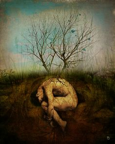 """""""The Dreaming Tree"""" by ChristianSchloe   Redbubble"""