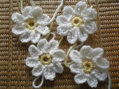 This is one of the best Daisy flower pattern I've seen so far! These daisies are so beautiful and look almost real. This Daisy pattern by Linda Gilbert is great for chains and daisy jewelry, or to use as embellishment on different projects. This little daisy looks also great in a granny square. As a …