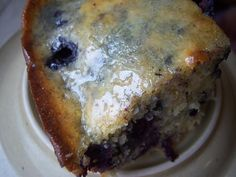 Blueberry Cornbread (use non GMO corn meal for safety reasons)