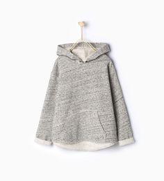 Imagem 1 de Sweatshirt bolso canguru da Zara