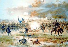Battle of Antietam by Thulstrup