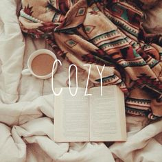grab a book and some coffee! <3
