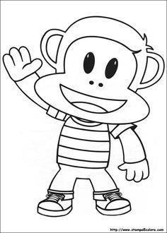 Mockingbird Coloring Page Beautiful Disegni Julius Jr Birthday Menu, Happy Birthday Printable, Monkey Birthday, 1st Birthday Parties, Fruit Coloring Pages, Animal Coloring Pages, Coloring Pages To Print, Coloring Books, Valentines Day Coloring Page