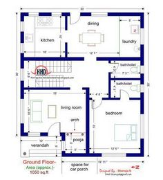 1200 sq ft house plans india