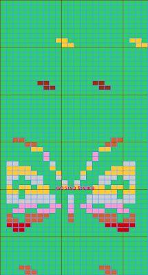 MES FAVORIS TRICOT-CROCHET: Le jacquard Knitting Charts, Knitting Patterns, Norwegian Knitting, Mittens, Needlepoint, Hama, Wool, Marque Page, Weaving