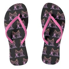 Drum Kit Drummer Flip Flops Shoes - diy cyo customize create your own #personalize